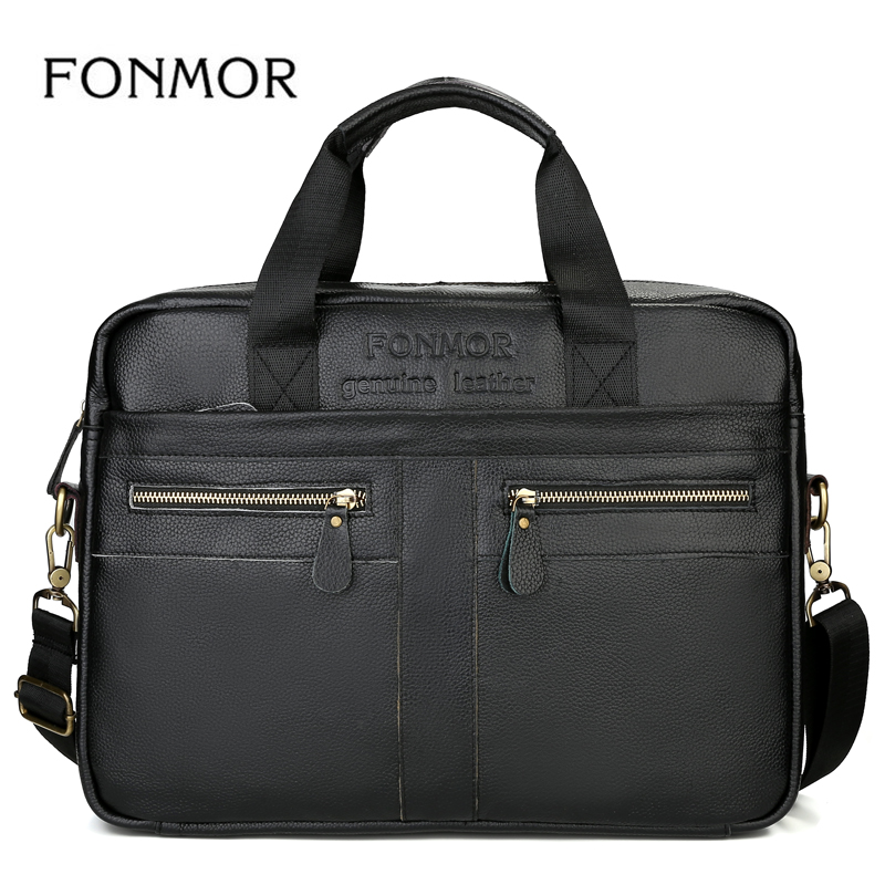 High Quality Fashion Briefcase Messenger Bag for Men Leather Laptop Bags Business Handbag Casual Shoulder Hand Bags все цены
