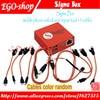 gsmjustoncct Sigma Box mobile phone unlock and repair tool for Nokia&ZTE&Motorola For MTK &Huawei(9 cables)( Basic version)