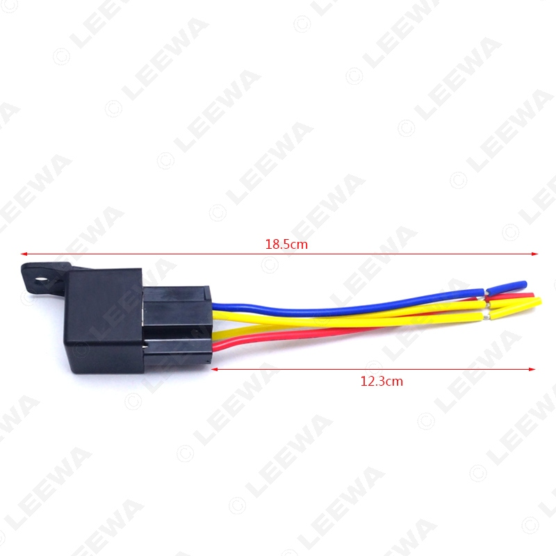 1pc Car Automotive pin 12VDC 40 30A Constant Closed Relay Controller With Wire Harness Adapter CA3883 online shop 1pc car automotive pin 12vdc 40 30a constant closed 12V DC Battery at gsmx.co