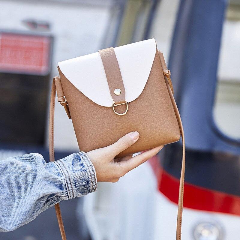 Mode téléphone sac étui bandoulière portefeuille dames sac à main sac à main épaule Messenger Mini téléphone sac embrayage Bolsa Feminina