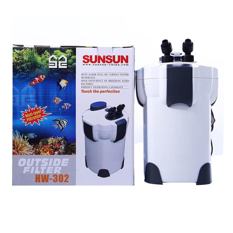 NCFAQUA SUNSUN HW-302 3 Stage Aquarium External Canister Filter 1000L/h Fish Tank Filter Pump Up to 75 GallonNCFAQUA SUNSUN HW-302 3 Stage Aquarium External Canister Filter 1000L/h Fish Tank Filter Pump Up to 75 Gallon