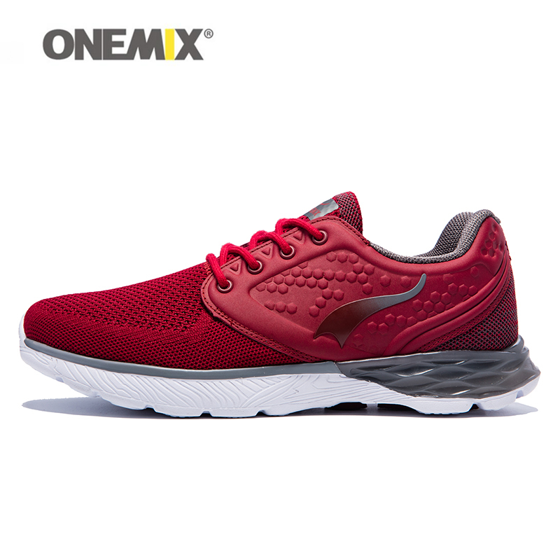 Onemix Latest lifestyle running shoes for mens summer cool walking sneakers sport shoe man breathable mesh outdoor fitness 2017 mens running shoes breathable male outdoor walking sport shoes new man athletic sport sneakers for adults