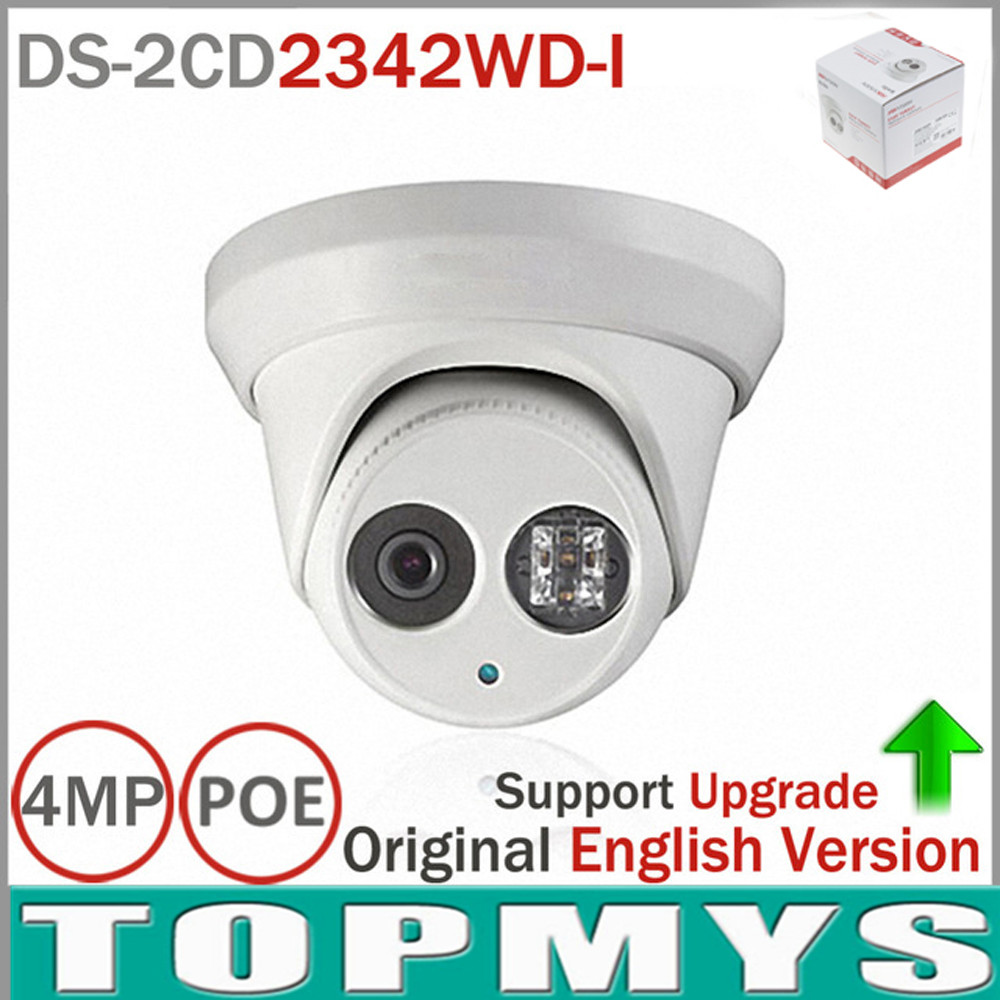 HIK IP Camera DS-2CD2342WD-I upgrade for DS-2CD2345F-IS 4MP POE CCTV ip Camera IR night vision H.265 Home security IP camera