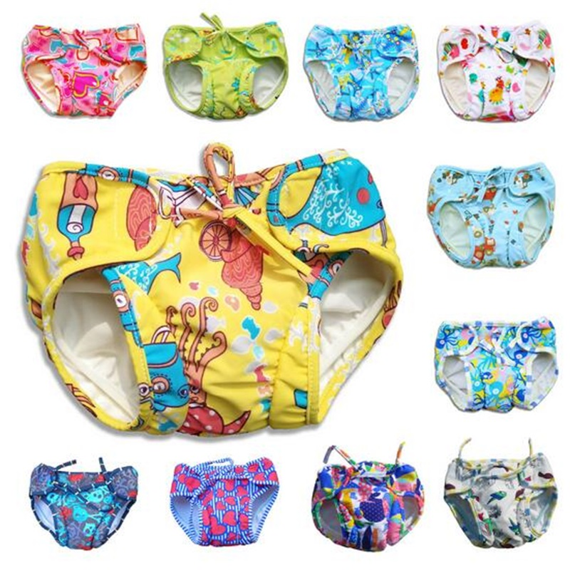 Underwear Briefs Swimming Children's Panties Leakproof Double-Insurance Wholesale