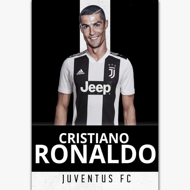 bca37f2111a FX1032 Cristiano Ronaldo Hot 2018 Team Soccer Player Football Super Star Poster  Art Silk Canvas Home Room Wall Printing Decor