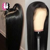 Mstoxic Lace Front Human Hair Wigs Brazilian Human Hair Lace Front Wigs With Baby Hair Pre Plucked Remy Hair Wig 13x4