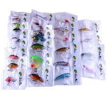 Yimistar #4003 Promotion ! Lot 26pcs Mixed Minnow Fishing Lures Bass Crankbait Treble hook