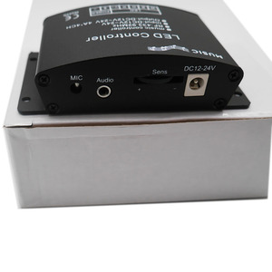Image 2 - DC12V 24V Music LED Controller 24Keys RGBW RF Remote Sound Sensor Voice Audio Control For 5050 RGB LED Strip Light Tape