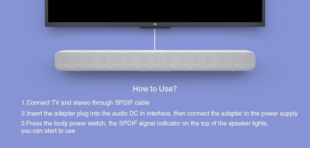 Xiaomi Mi Soundbar Speaker 5