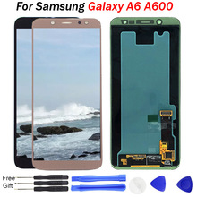 For Samsung Galaxy A6 LCD Display A600 A600F A600FN Touch Screen Digitizer Assembly Replacement 2018