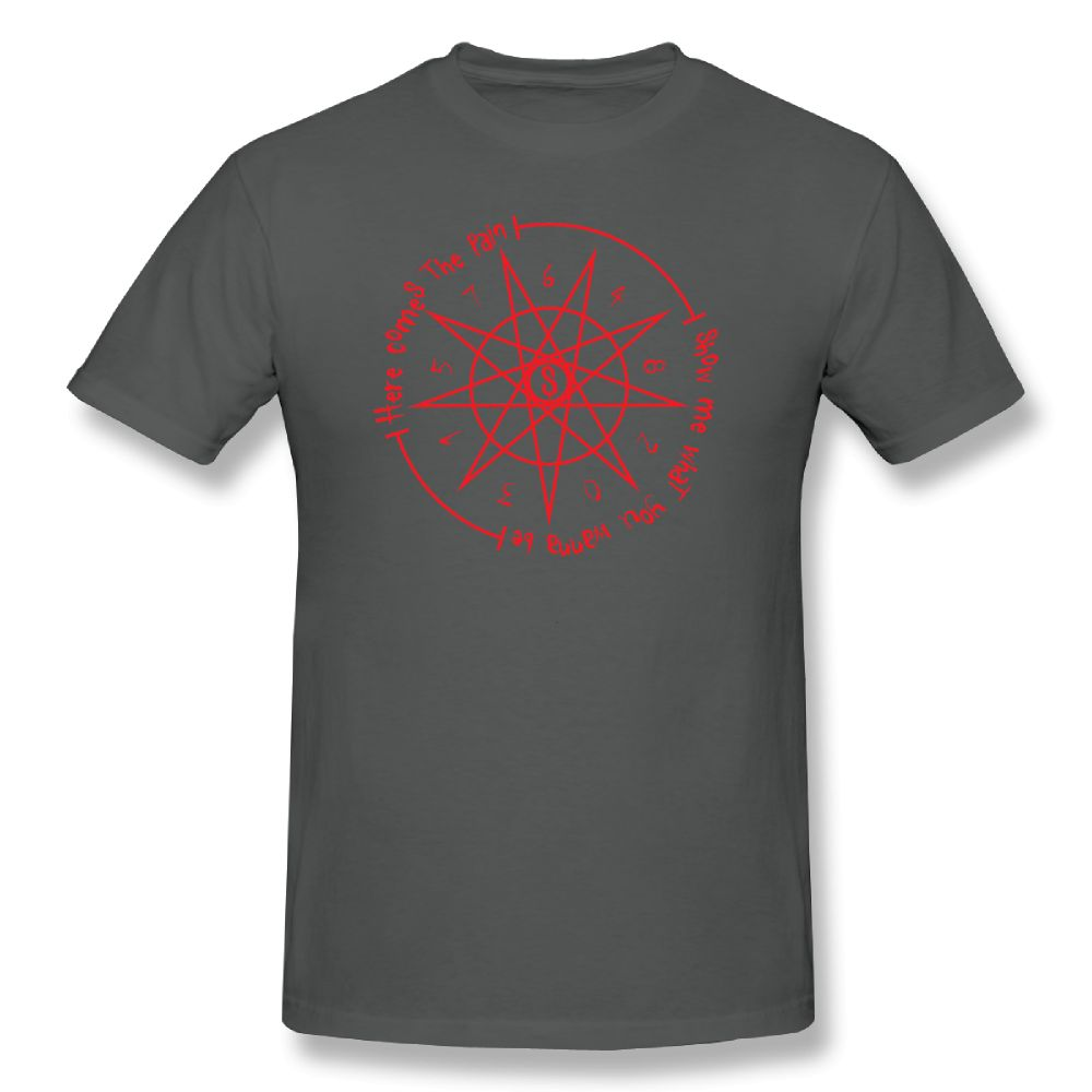 Slipknot Music Tee Shirt Sic Print T Shirt Men Awesome T Shirt Summer Cotton T Shirts Funny Men 39 s Short Sleeve Casual T Shirts in T Shirts from Men 39 s Clothing