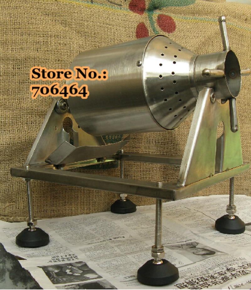 Portable Coffee Roaster Diy Stainless Steel Manual Coffee Bean