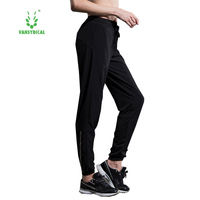 2016 New Ladies Sports Yoga Pants Female Autumn Winter Trousers Pencil Pants Compression Women Black Training