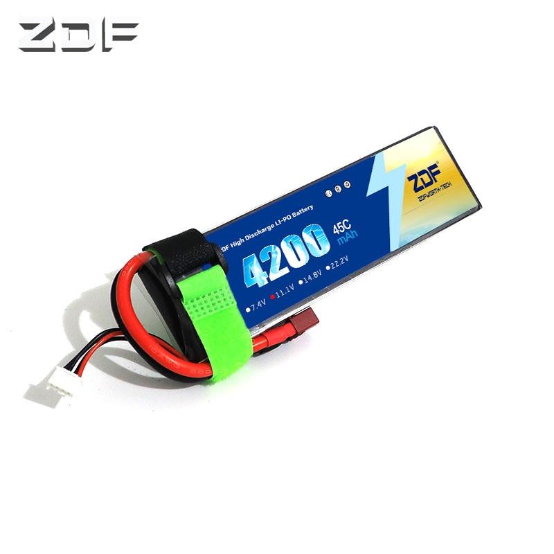 zdf 45c 3 s 11 1 v 4200 mah bateria lipo bateria lipo para carro rc