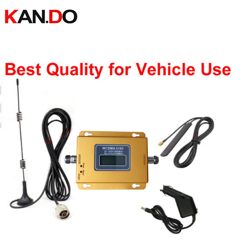 Best Quality Car Use 3G Booster 3G Repeater WCDMA Signal Enlarger For Car Use 69dbi 22dbm High Power Signal Repeater