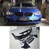 PP M3 Стиль переднего бампера тела Наборы автомобиля модифицирующие аксессуары для BMW F30 F35 320I 328I 330I 335I 340I 2013 2017 стайлинга автомобилей