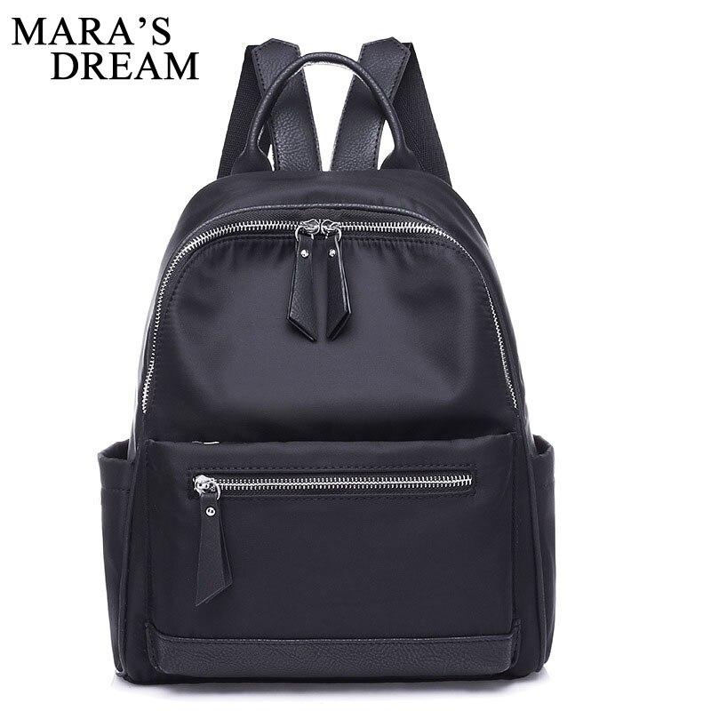 Mara's Dream 2018 Oxford sac à dos femme voyage sacs à dos pour femmes mode sac d'école étanche filles sac à dos Mochila