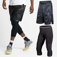 Баскетбольные шорты плотный тренировочный костюм, приталенный костюм, два костюма, летний спортивный фитнес
