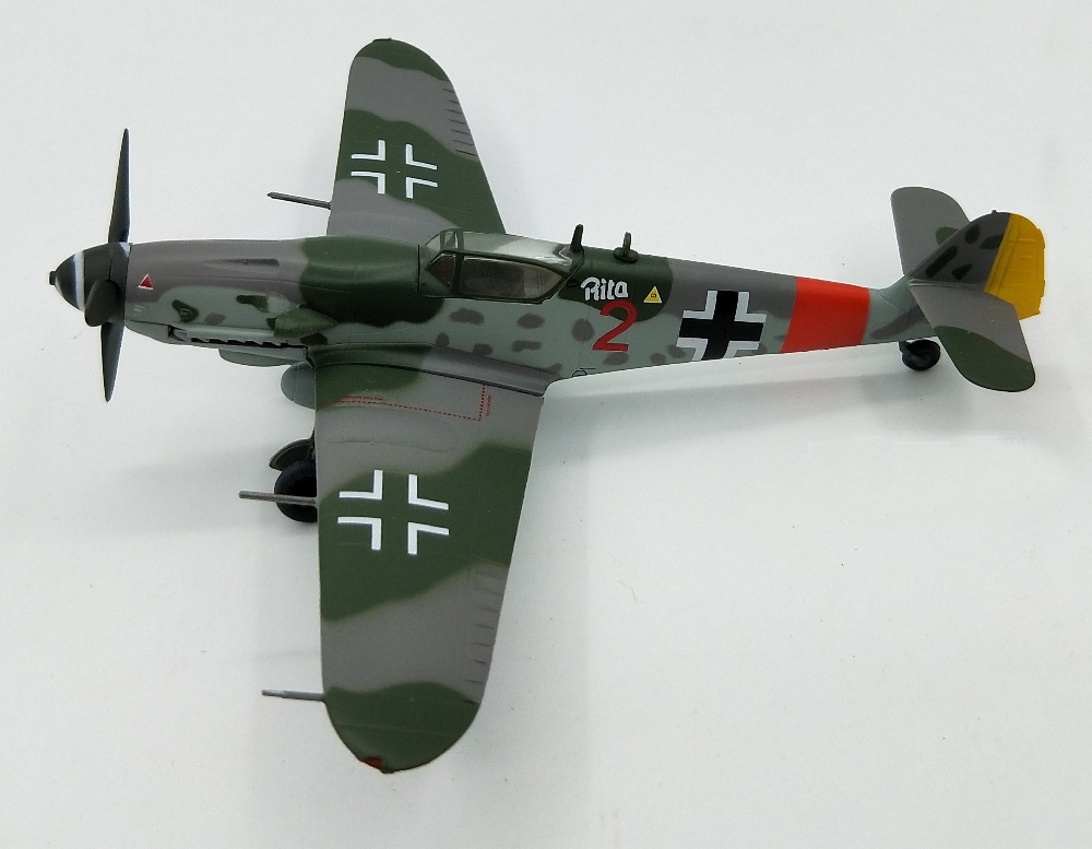 1:72 German ME/Bf109 G-10 Fighter  Trumpeter Model 37205  Collection Model