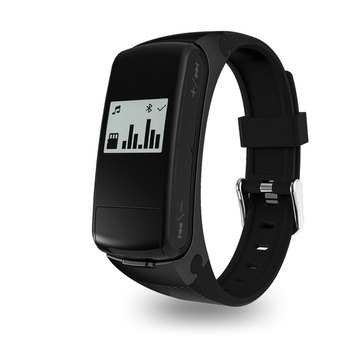 Smartband F50 Smart Watch Earphone Headset Heart Rate Monitor Bluetooth Fitness Tracker Wristwatch For IOS Android Phone