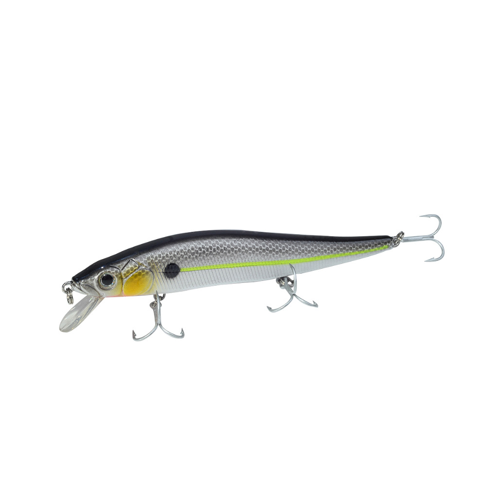 BassLegend Pesca Flotante Jerkbait Minnow Bass Pike Señuelo 110mm/14.5g