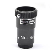 "Cheap price Visionking 3x Barlow Lens For 1.25"" Telescope Eyepiece Space Astronomy Telescope Barlow Lens Eyepieces High Quality Free Ship"