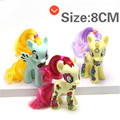 Pony Toys Horse in Action Figure 8CM Head can Rotate 360 Degrees Vinyl Doll Toy Model PVC Doll For over 6 year Girls Kids Toy
