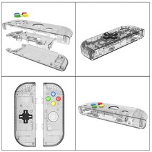 Full Set Replacement Housing Shell Case For Nintend Switch NS Handheld Game Console Protective Case For Joy-con Controller