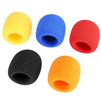 5 pcs Grande Esponja de Espuma Windscreen Cobrir para Handheld Dinâmico Condensador Gravação do Microfone Microfone KTV Karaoke|Acessórios de microfone| |  -