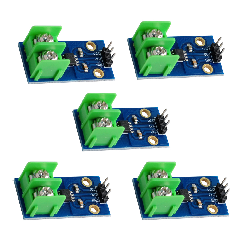 5Pcs/lot 20A Current Sensor Module Sensing ACS712ELCTR-20A Chip AC And DC+- 20A FZ0303