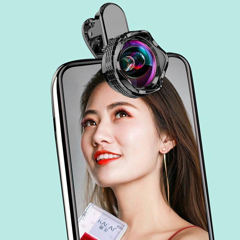 Mobile Phone High-definition Magnifying Glass Macro Lens Universal Camera Artifact Beauty Eyelash Professional External Camera