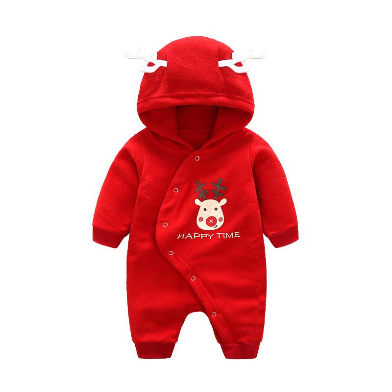 baby clothes Autumn Winter Baby Clothes Long Sleeve Fleece Baby Boys Girls Romper Infant Jumpsuits Newborn Baby baby clothes new hot 100% cotton winter and autumn baby rompers baby clothing boys girls infant newborn kids long sleeve clothes