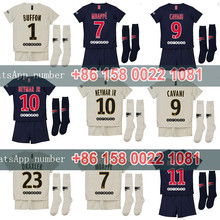 c847422e3 2018 2019 psg kids kit maillot football 18 19 Home Away football camisetas  Thai AAA shirt neymar jr mbappe Soccer jersey