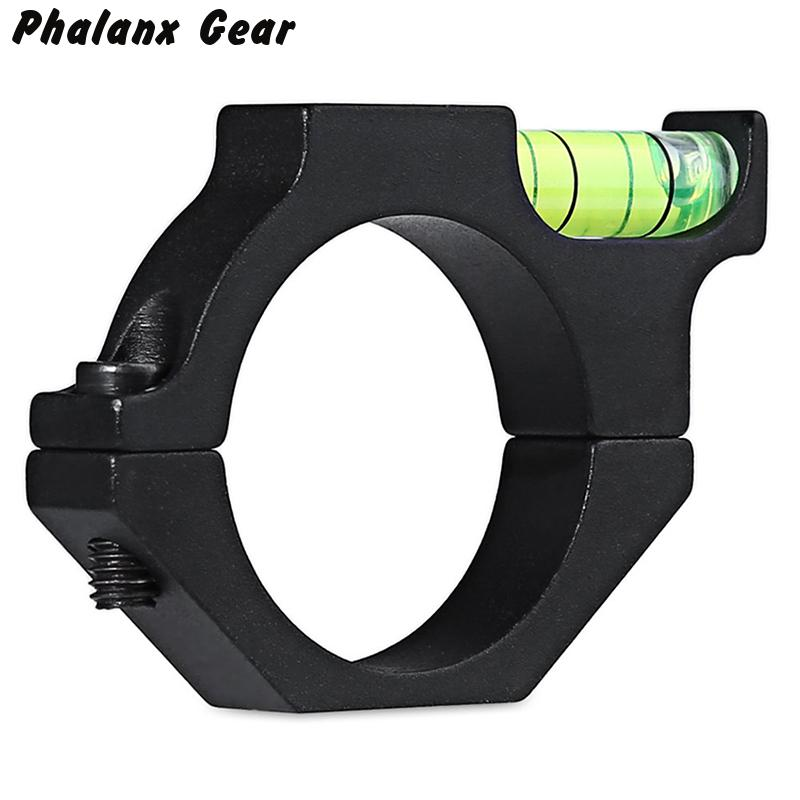 Hunting Alloy Rifle Scope Laser Spirit Level For 30mm Ring Mount Holder Scope New Military Gear Equipment Picatinny Rail