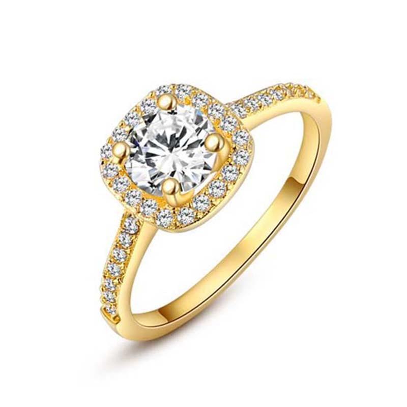 6a3629f41878 ROXI mujeres Anillos amor de la boda para las mujeres Anillos Mujer oro  blanco cristal anillo Aneis Feminino 2018 Bague