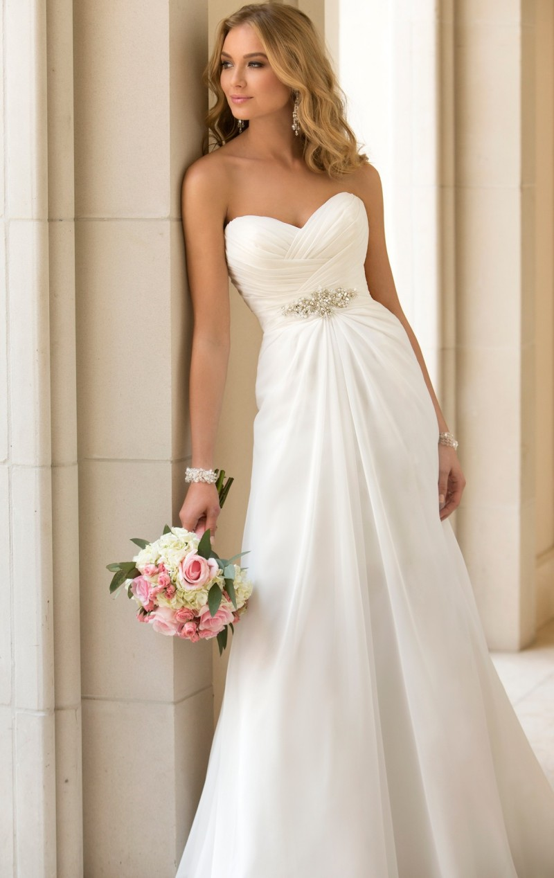 Popular Beautiful Simple Wedding Dresses-Buy Cheap Beautiful ...