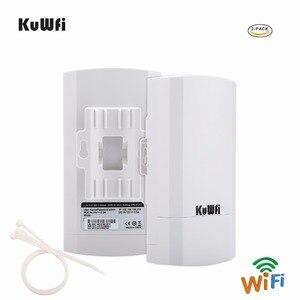 Image 4 - 1KM 2pc 2,4 Ghz 300Mbps p2p Outdoor Wireless CPE Brücke Router Unterstützt WDS Funktion Keine einstellung mit led anzeige