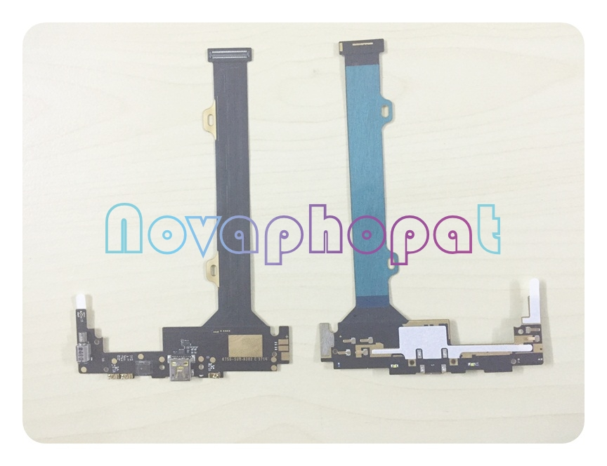 Novaphopat New Charging Flex For Lenovo Vibe Z2 Pro K920 Charger Port Connector Micro USB Dock Plug Flex Cable Replacement dock connector to usb cable
