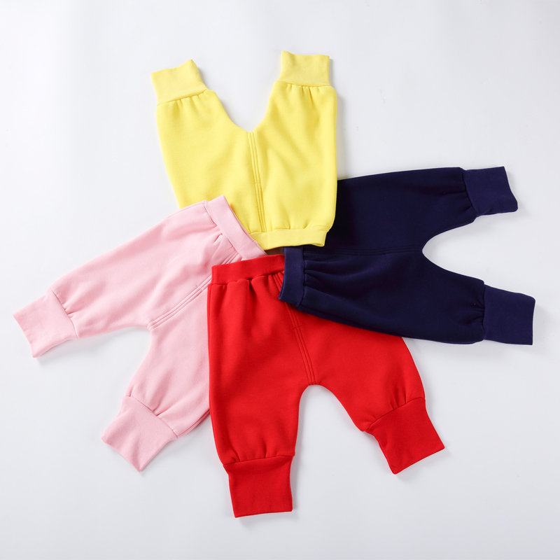 Baby Pants Children Warm Leggings Kids Pants Baby Boys Girls Pants Fleece Kids Clothes Knicker Bocker Children Clothing
