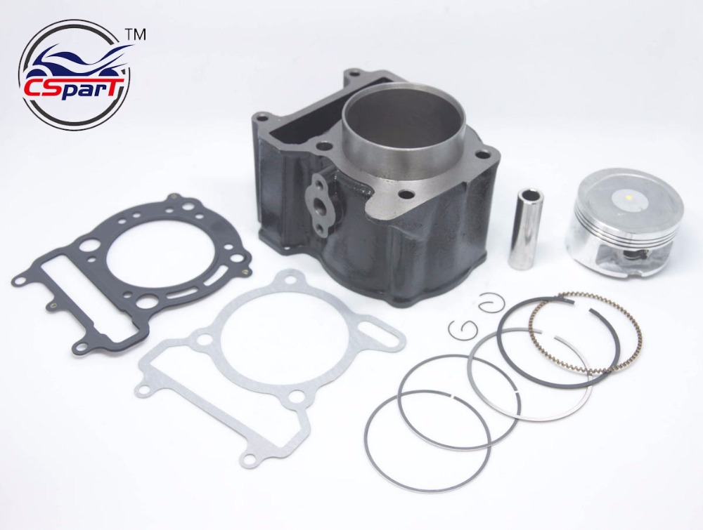 70mm Cylinder Piston Ring Kit YP260 257 YP250 VOG 260CC Linhai QianJiang Keeway ATV UTV BUYANG Scooter motorcycle cylinder kit 250cc engine for yamaha majesty yp250 yp 250 170mm vog 257 260 eco power aeolus gsmoon xy260t atv page 2