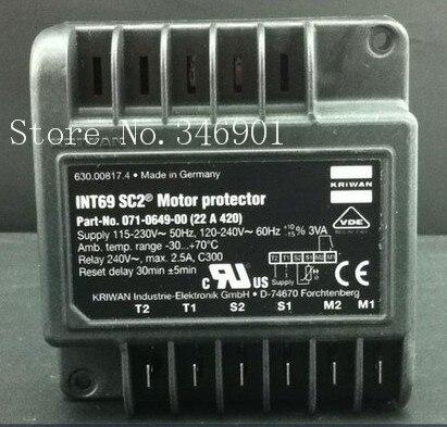 [SA] Germany KRIWAN INT69SC2 071-0649-00 compressor protection[SA] Germany KRIWAN INT69SC2 071-0649-00 compressor protection