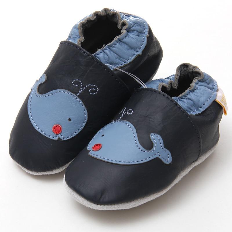 Leder Babyschuhe junge Baby Mokassins Tier Kinder Kleinkind Schuhe - Babyschuhe - Foto 2
