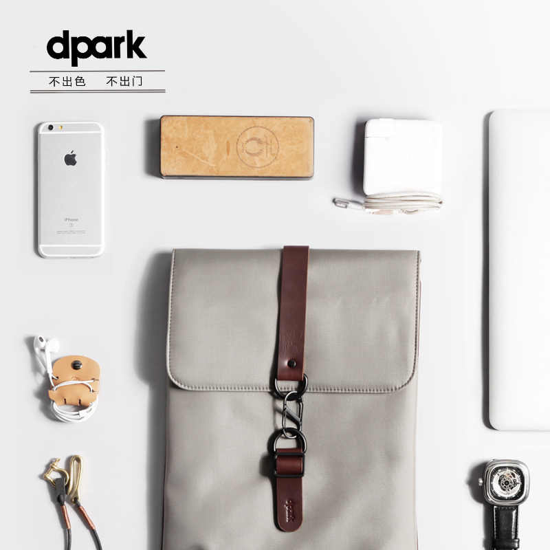 Fundas impermeables para ordenador portátil d-park para hombre, bolsa interior para portátil, funda para portátil de 12 13 14 pulgadas bolsas