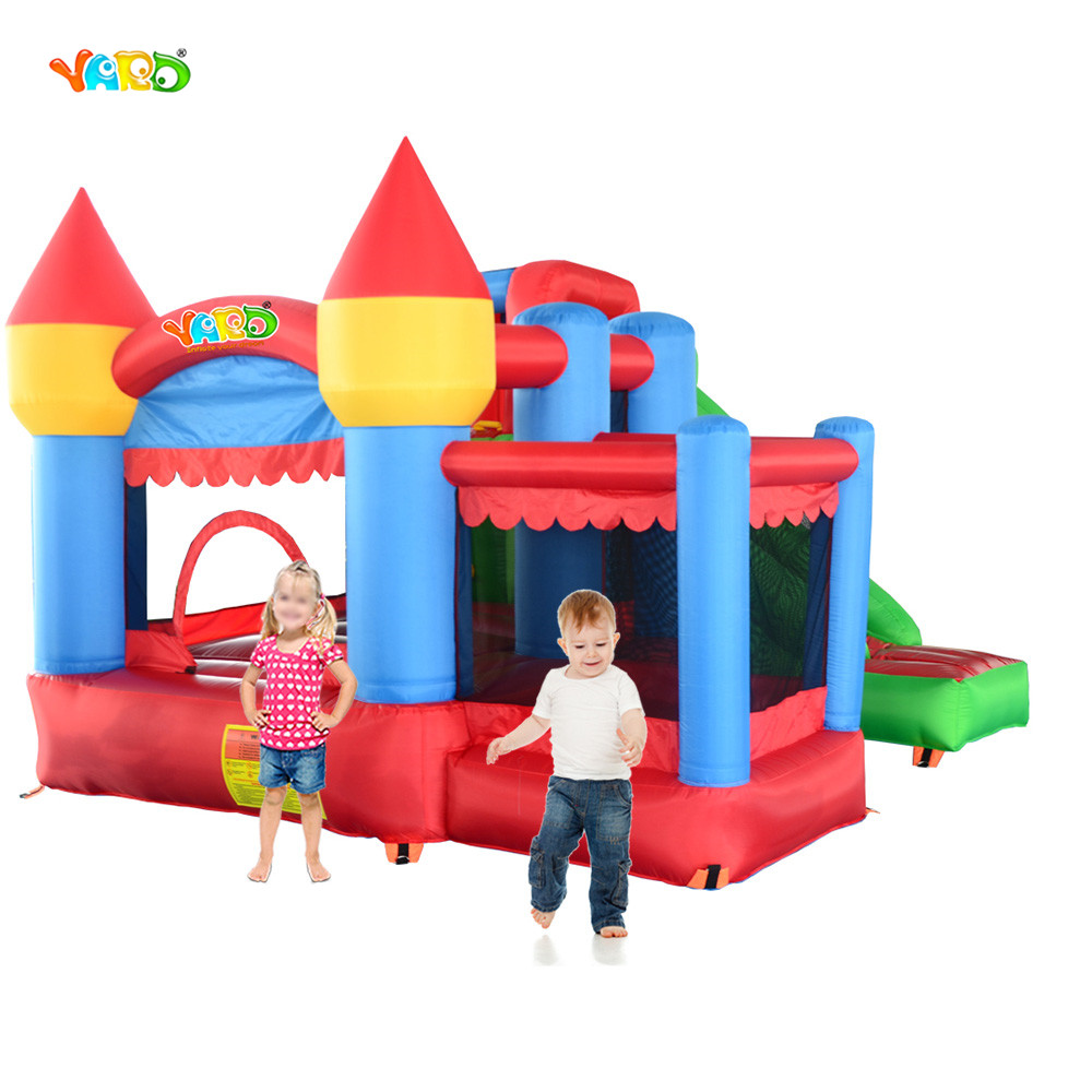 Hot Selling Jumping Castle Inflatable Bounce House Bouncy Castle With Ball Pit tropical inflatable bounce house pvc tarpaulin material bouncy castle with slide and ball pool inflatbale bouncy castle