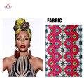 2017 Las Mujeres de África Ankara Impresión Headwarp Headtie Headtie Africano Dashiki Accesorios Mujeres WYB56