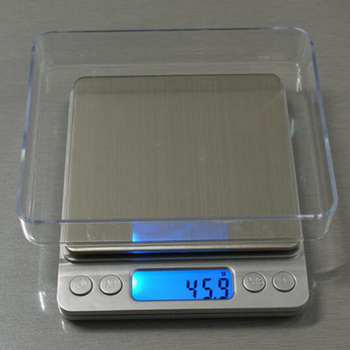 1000g/2000g/3000g/0.1g الإلكترونية موازين رقمية المحمولة البسيطة الجيب حالة البريدية المطبخ مجوهرات الوزن ميزان مقياس رقمي
