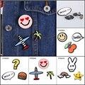 Fashion Shirt Skirt Hello Happy Face Apple Fibula Tree Bread Why Doubt Rabbit Plane Ornamented Brooch Bouquet Kit