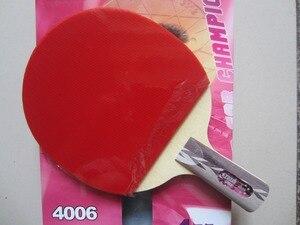 Image 5 - オリジナルdhs 4002 4006卓球ラケット4つ星dhs完成ラケットにきびゴムで高速攻撃ループ
