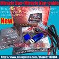 2016 100% Original caja + Milagro Milagro clave con cables (v2.33A actualización caliente) para teléfonos móviles de china Desbloquear + reparación de desbloqueo