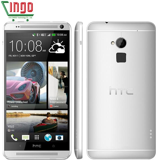 Открыл HTC One Max 16/32 ГБ Встроенная память 2 ГБ Оперативная память quad-core 3G & 4 г Mobile телефон 5.9 дюйма 4mp WI-FI GPS HTC One Max смартфон